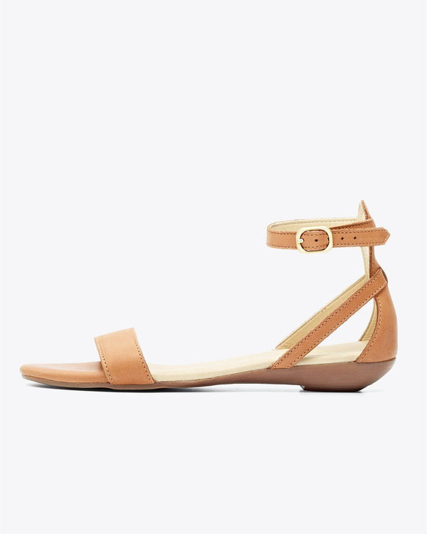 Nisolo Serena Sandal Almond Women's Leather Sandal Nisolo