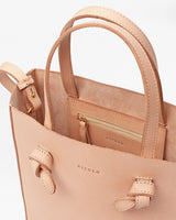 Nisolo Simone Crossbody Shopper Natural Vachetta Leather Handbag - unlined Nisolo-5009514463295