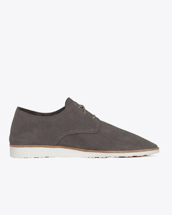 Nisolo Women's Sedona Travel Derby Slate Grey Women's Leather Loafer Nisolo