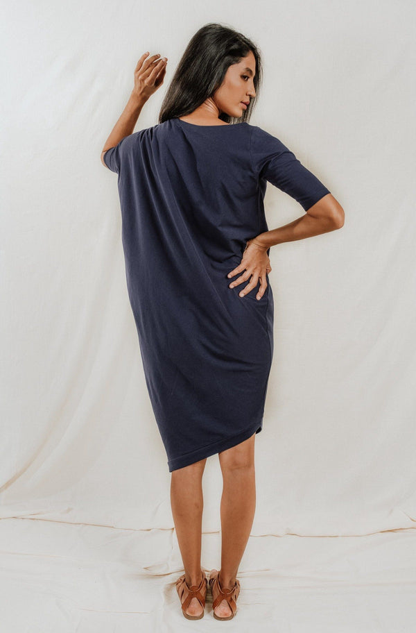 No Nasties Drape Dress : Rodez Dresses No Nasties