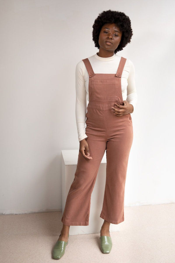 North of West Ariel Overalls - Terracotta Jumpsuit North of West