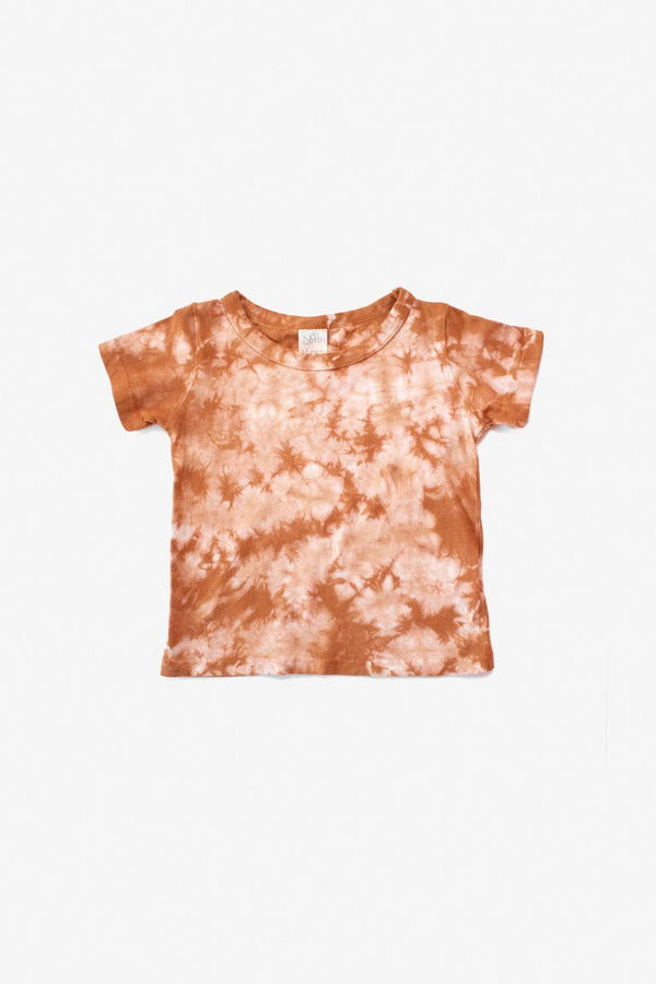 North of West Tie Dye Organic Tee - Amber Tee North of West