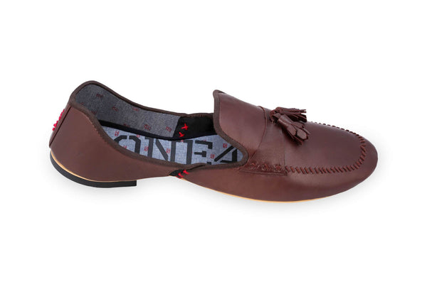 ONE432 Men's Chaudhry Jutti Loafer - Chocolate Footwear ONE432