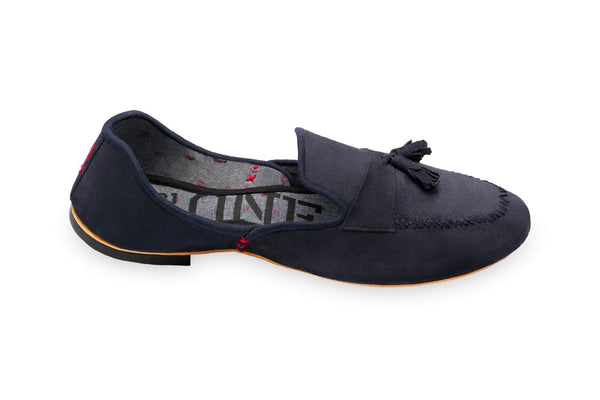 ONE432 Men's Chaudhry Jutti Loafer - Navy Footwear ONE432