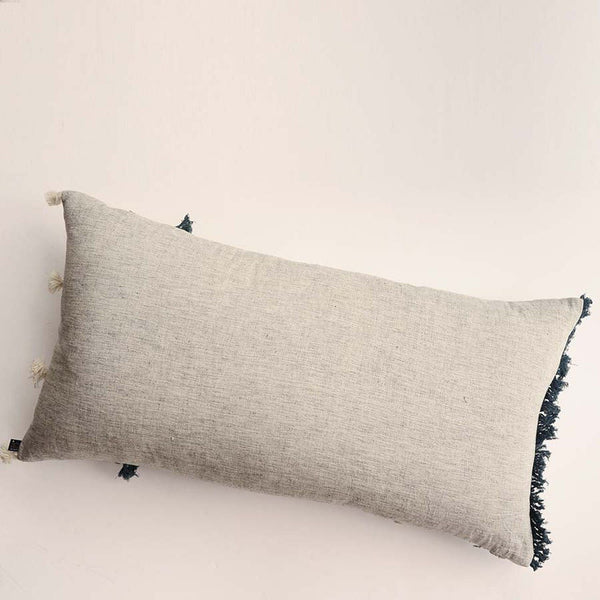 Organic Cotton Jewels Lumbar Pillow Cover Ichcha