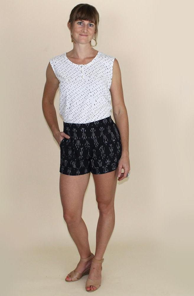 Passion Lilie Betty Ikat Shorts Shorts Passion Lilie
