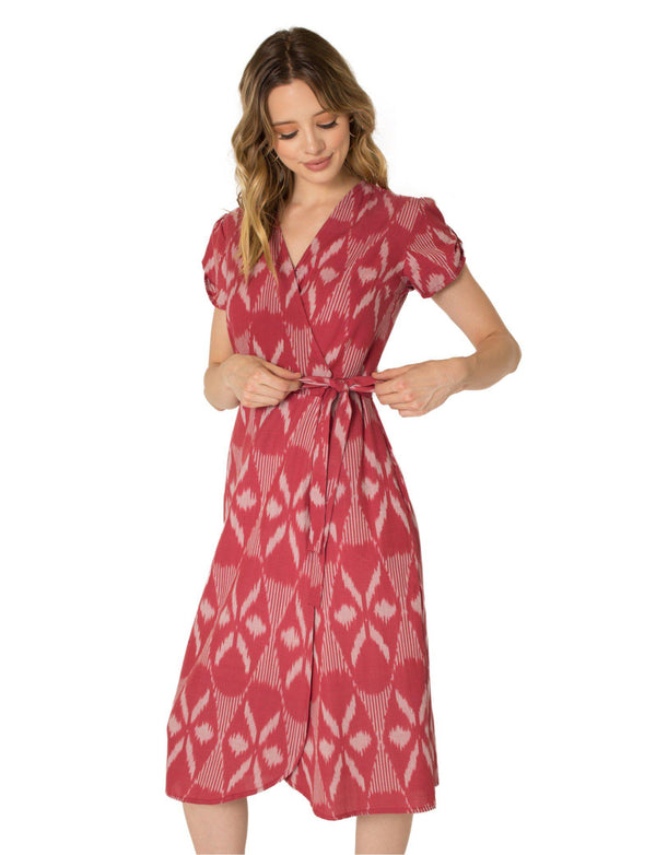 Passion Lilie Garnet Wrap Dress Passion Lilie