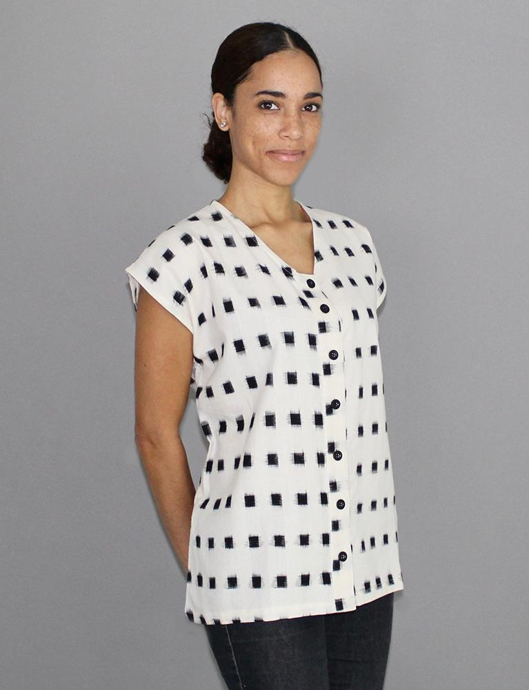 Passion Lilie Maxwell Button Shirt Top Passion Lilie