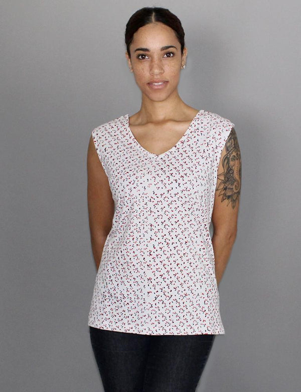 Passion Lilie Sparkler Organic Jersey Top Passion Lilie