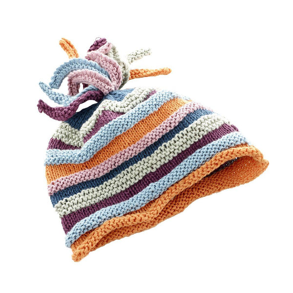 Pebble Organic Rainbow Baby Hat Pebble
