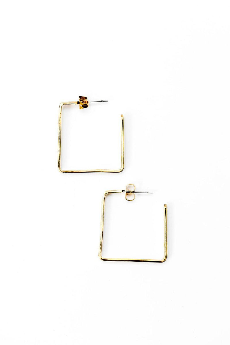 Perfect Square Earrings Abby Alley