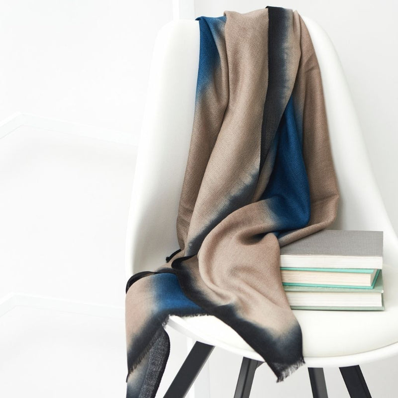 Prussian Cashmere Scarf Studio Variously