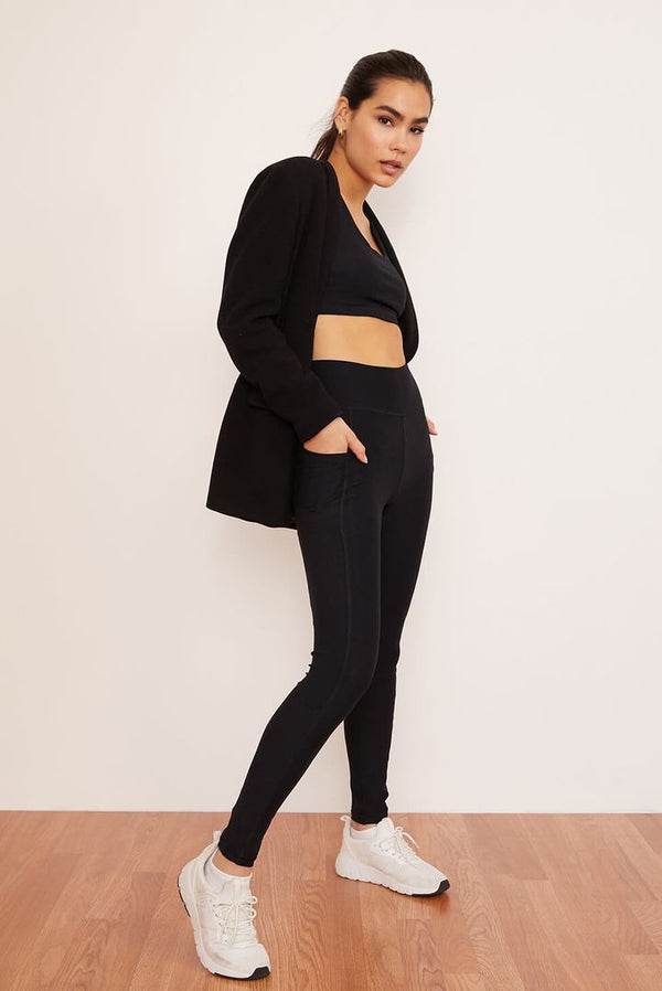 Recycled Legging with Pockets - Onyx Legging Wolven