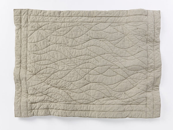 Remi Quilted Baby Blanket - Laurel Baby Coyuchi