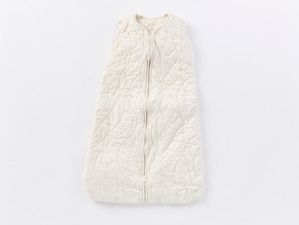 Remi Quilted Snuggle Sack - Undyed Baby Coyuchi