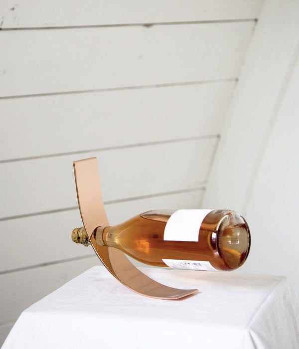 Rose & Fitzgerald Bottle Holder - Copper Rose & Fitzgerald