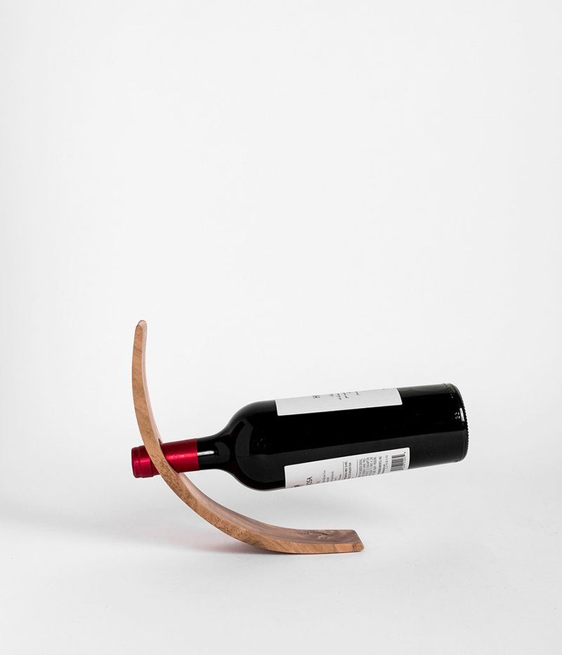 Rose & Fitzgerald Bottle Holder - Teak Rose & Fitzgerald