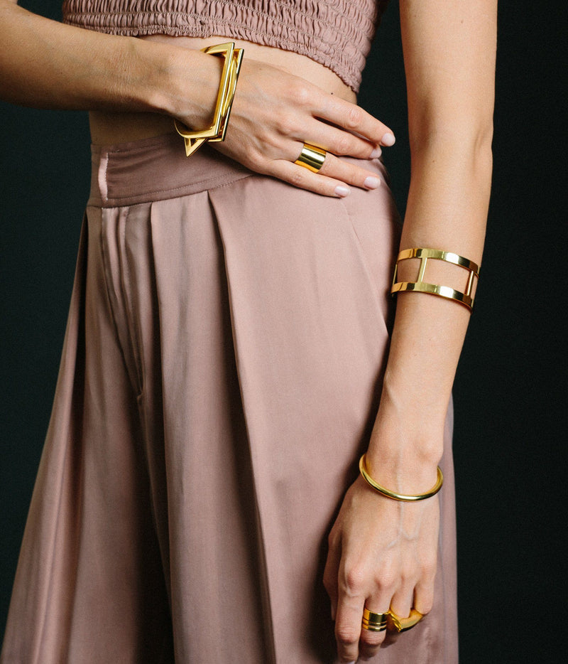 Rose & Fitzgerald Channels Cuff Rose & Fitzgerald