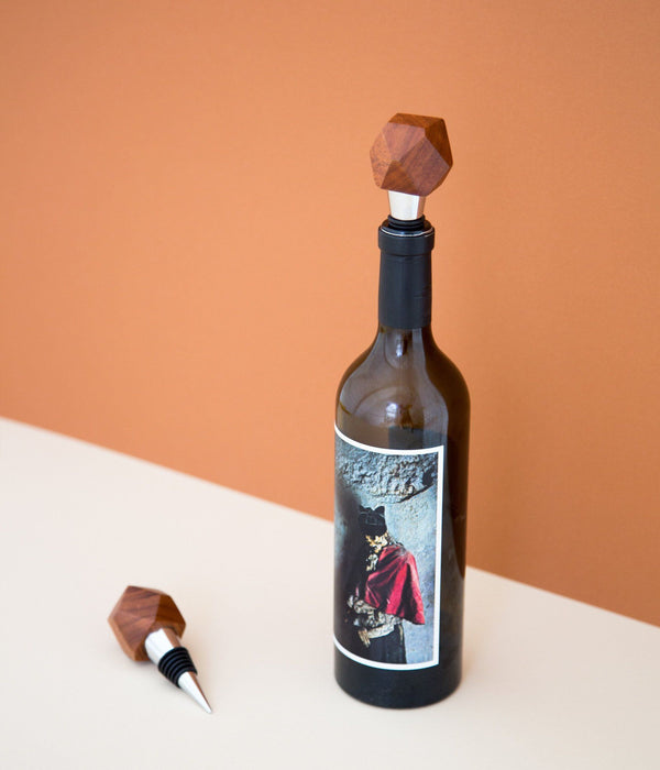 Rose & Fitzgerald Mugavu Geometric Bottle Stopper Rose & Fitzgerald