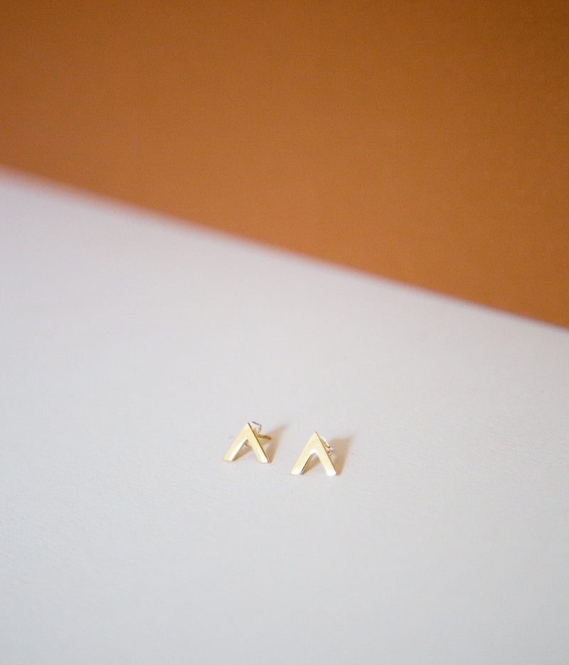 Rose & Fitzgerald Triangle Studs Rose & Fitzgerald
