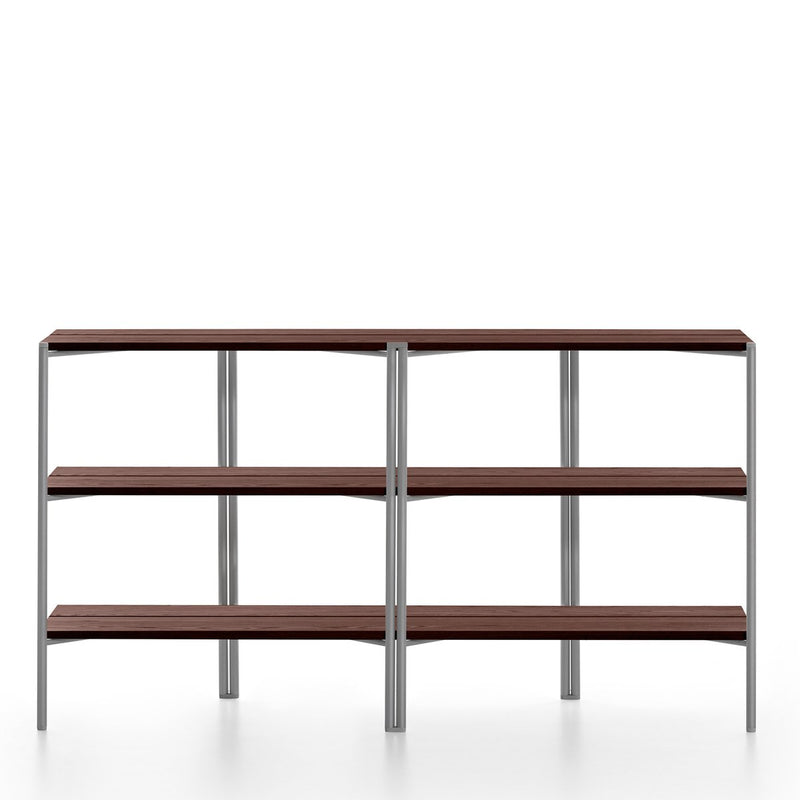 Run Shelf - Aluminum Frame Furniture Emeco Walnut