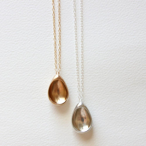 Salt + Still Egg Hollows Necklace Salt + Still