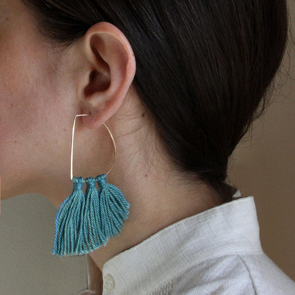 Salt + Still Fin Fringe Earrings Salt + Still