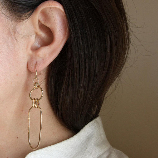 Salt + Still Linked Earrings Salt + Still