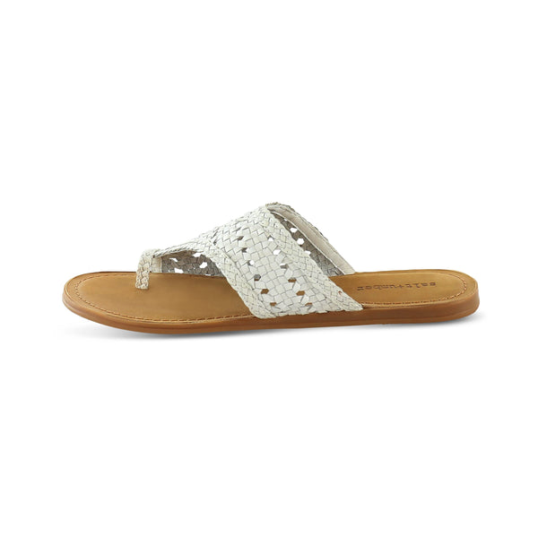 Salt & Umber ATHENA TOE LOOP WOVEN SANDAL footwear Salt & Umber