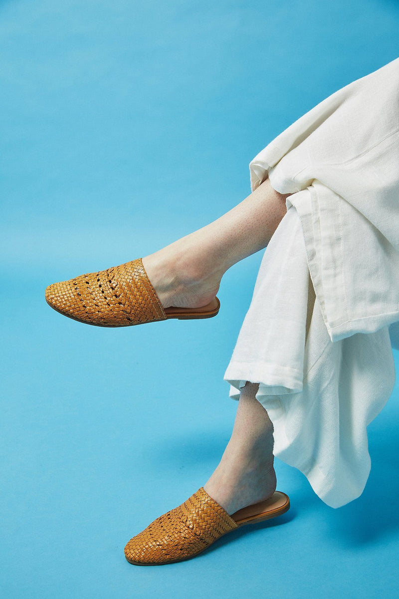 Salt + Umber Lily - Mustard Women's Shoes Salt & Umber