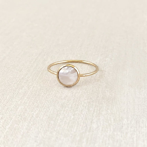 Sara Patino Jewelry Deep Pearl Ring Rings Sara Patino Jewelry