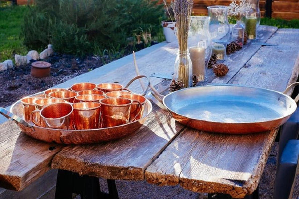 Sertodo Copper Alicante Paella Pan Home Goods Sertodo Copper