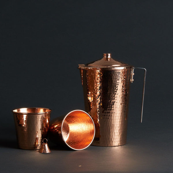 Sertodo Copper Ayurveda Set Kitchen and Dining Sertodo Copper