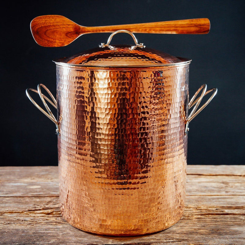 Sertodo Copper Big, Beautiful Stock Pots Kitchen and Dining Sertodo Copper