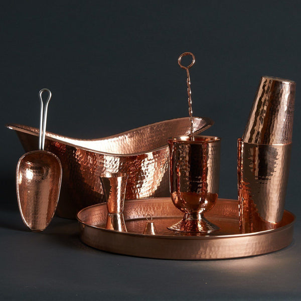 Sertodo Copper Deluxe Home Bar Set Kitchen and Dining Sertodo Copper