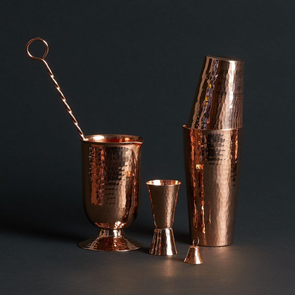 Sertodo Copper Essential Mixologist Set Sertodo Copper