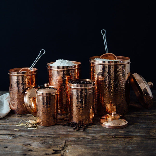 Sertodo Copper Kitchen Canisters Kitchen and Dining Sertodo Copper