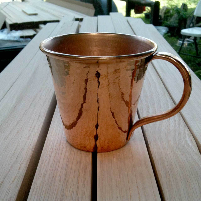 Sertodo Copper Moscow Mule Mug - 12 oz Kitchen and Dining Sertodo Copper