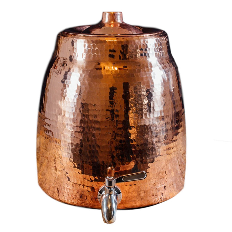 Sertodo Copper Niagara Water Dispenser with Lid Home Goods Sertodo Copper