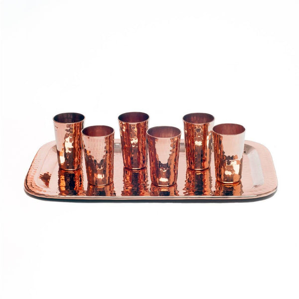 Sertodo Copper Tequilero Shot Cup Flight Set Sertodo Copper