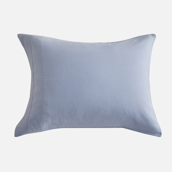 Sijo French Linen Pillowcase Set - Sky French Linen Bedding Sijo
