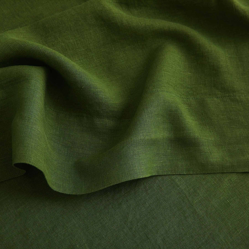 Sijo French Linen Sheet Set - Forest French Linen Bedding Sijo