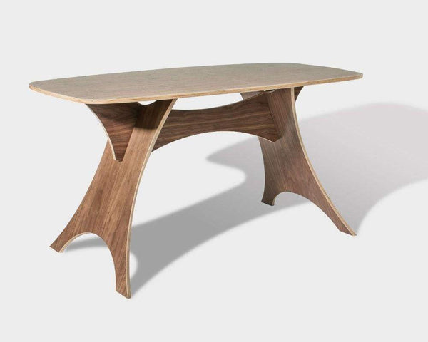 Simbly Desk / Kitchen Table - Walnut Simbly Walnut
