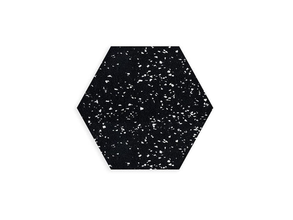 Slash Objects Hex Duo in Speckled Black Slash Objects