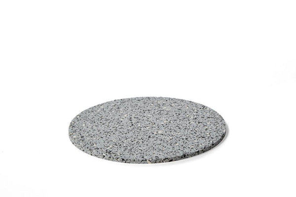 Slash Objects Round Rubber Trivet in Gris Slash Objects