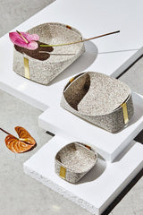 Slash Objects Rubber and Brass Baskets in Sand Slash Objects-12806642991167
