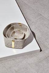 Slash Objects Rubber and Brass Baskets in Sand Slash Objects-12806500089919