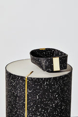 Slash Objects Rubber and Brass Baskets in Speckled Black Slash Objects-12806525485119