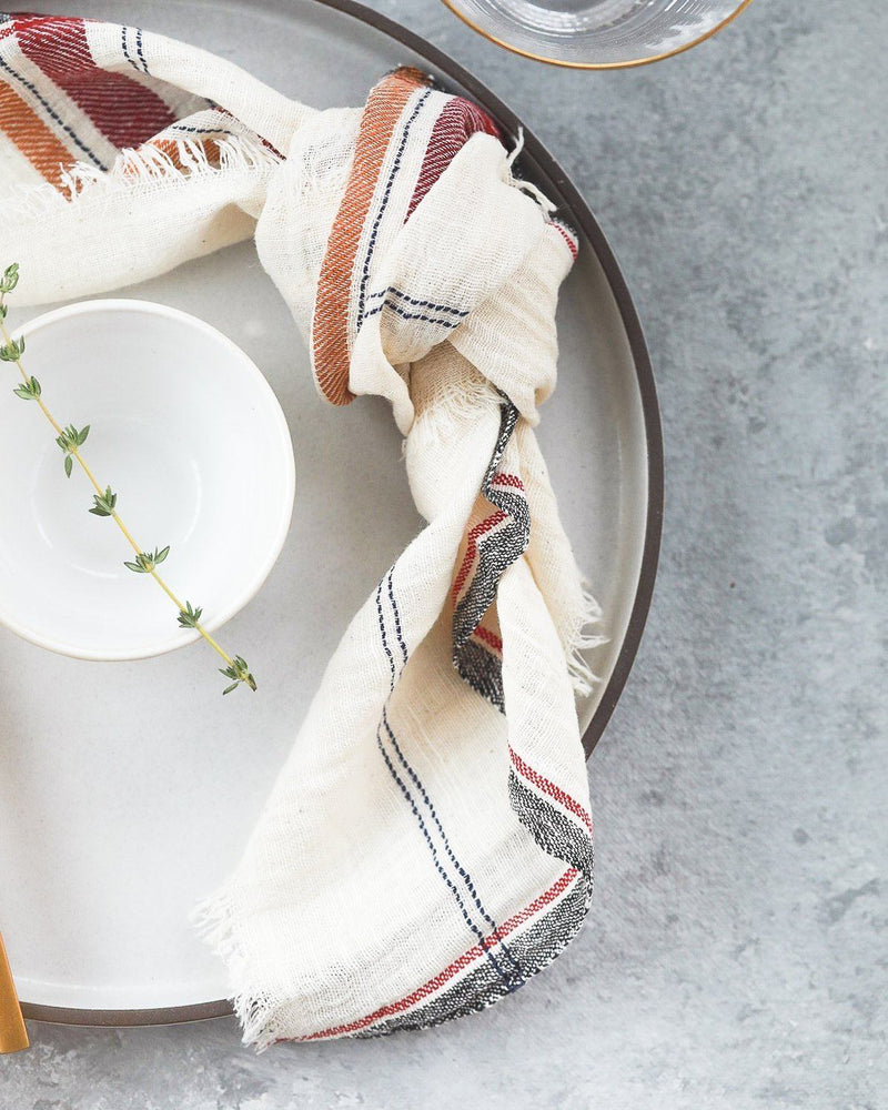 Soil to Studio Anandi - Organic Handwoven Napkins Table Linen Soil to Studio