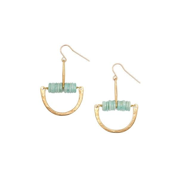 Son of a Sailor Maud Earrings / Amazonite Son of a Sailor